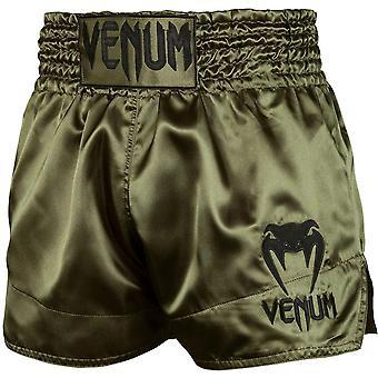 Venum Classic Muay Thai Shorts - Khaki/Noir