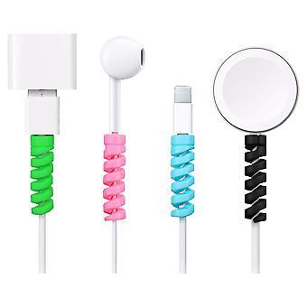 8 Pack Kabelprotektoren Spiralbites-Universal