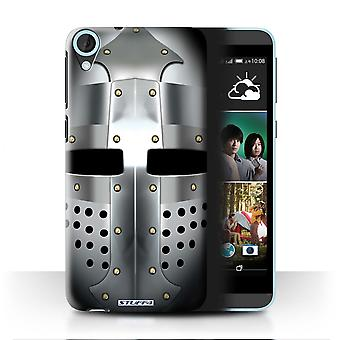 STUFF4 Case/Cover for HTC Desire 820s Dual/Bascinet Helmet/Knight Armour