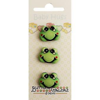 Baby Hugs Buttons-Froggy BH-120