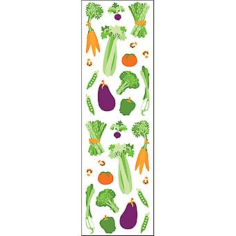 Mrs. Grossman's Stickers Vegetables Mg199 11243