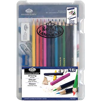 Clearview Mini Art Set-Drawing 16pc RSETART3