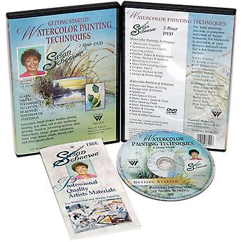 Susan Scheewe 2 Hour Painting Dvd Watercolor Techniques Sdvd 102