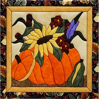 Flowers In A Pumpkin Quilt Magic Kit 12