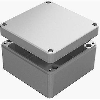 Universal casing 160 x 160 x 90 Aluminium Grey Deltron Enclosures 487-161609A 1 pc(s)