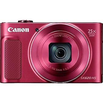 Digital camera Canon PowerShot SX620HS 20 MPix Optical zoom: 25 x Red Full HD Video, Wi-Fi