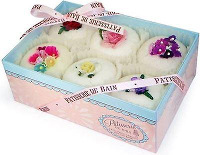 Rose & Co. Patisserie de Bain Gift Box of 6 Fancies