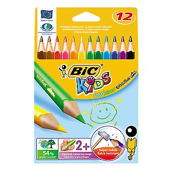 BIC Ecolutions Kids Evolution Dreieck, 12St.