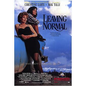 Verlassen normalen Film-Plakat-Druck (27 x 40)
