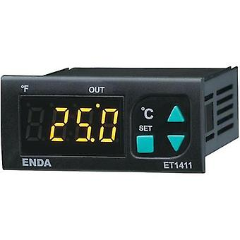 Temperature controller Enda ET1411-NTC NTC -60 up to 150 °C 8 A relay (L x W x H) 71 x 77 x 35 mm