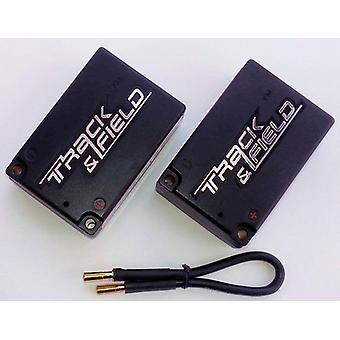 5800mAh sela pacote 75C / 6C 2S3P 7.4 v