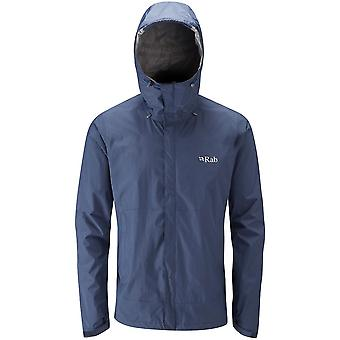 Rab Downpour Jacket Twilight (Large)