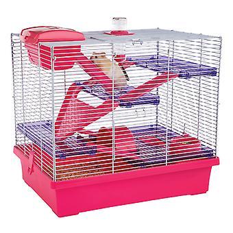 Optionen kleine Tier Pico Xl Hamster Käfig rosa 50x36x47cm (2 Stück)