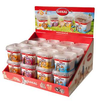 Sanal Exp 24 Pot Snacks (Cats , Treats , Biscuits)