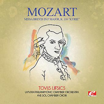 Mozart - Missa Brevis in F Major K. 116 Kyrie USA import