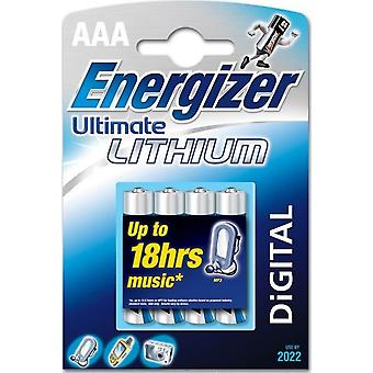 Energizer Ultimate Lithium - battery - AAA - Li