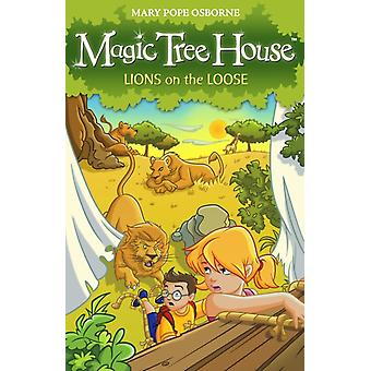 Magic Tree House 11: Lions on the Loose (Paperback) by Osborne Mary Pope