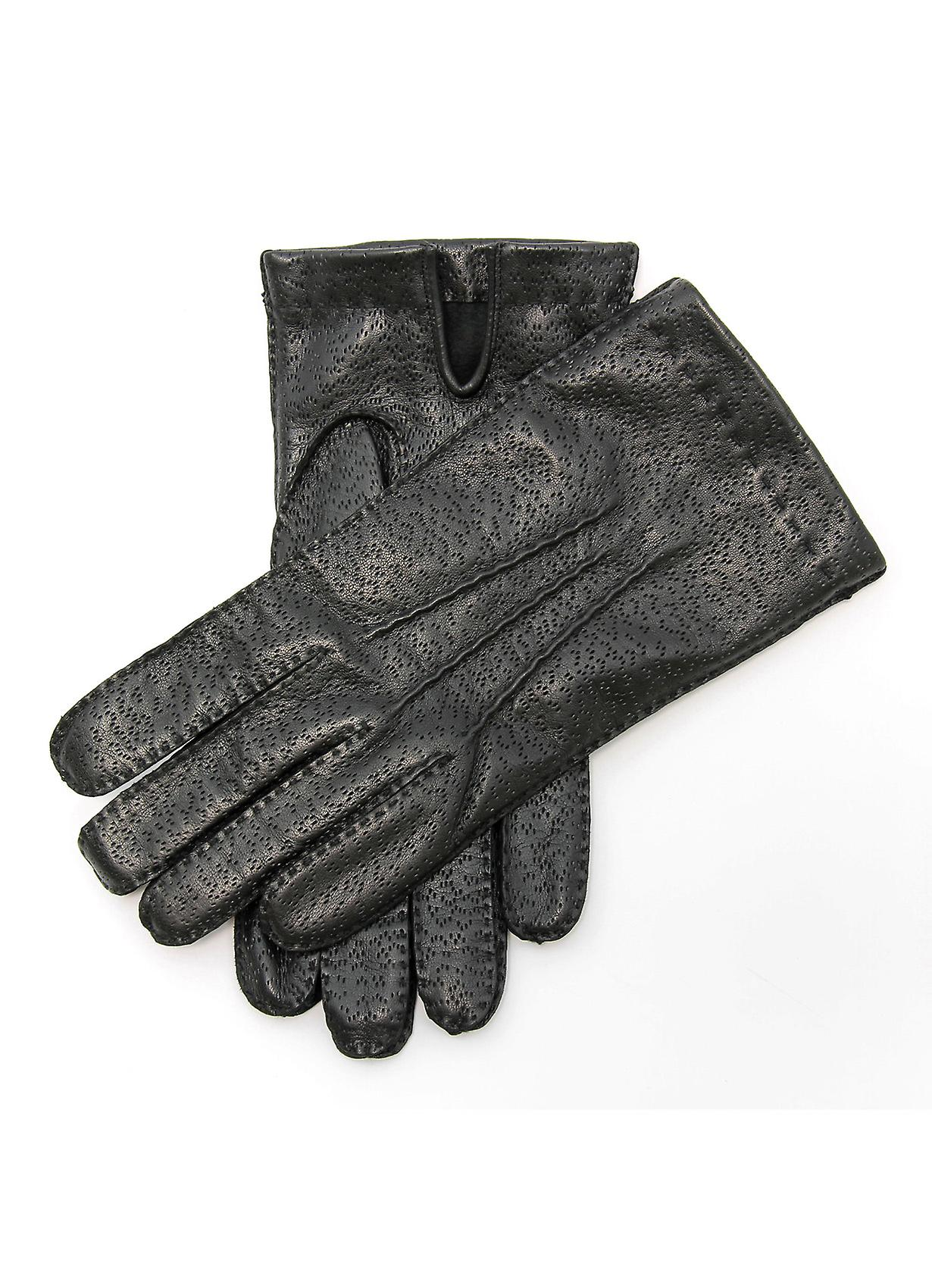 Phil II Classic Handsewn Leather Gloves in Black