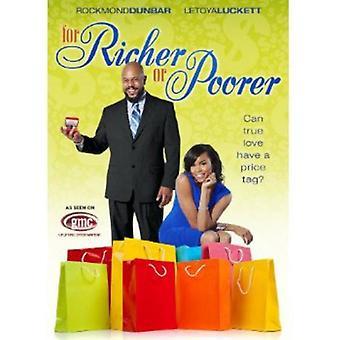 For rigere eller Poorer [DVD] USA import