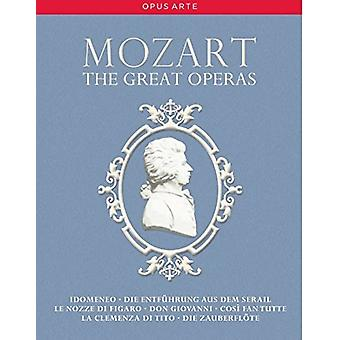 Various Artist - Mozart: Great Operas [DVD] USA import