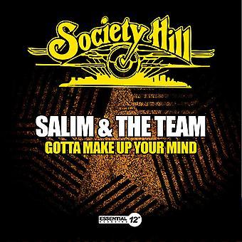 Salim & Team - Gotta Make Up Your Mind [CD] USA importeren