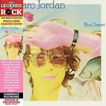 Marc Jordan - Blue Desert [CD] USA import