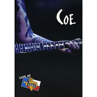 COE, David Allan - Live på Billy Bob's Texas [DVD] USA import