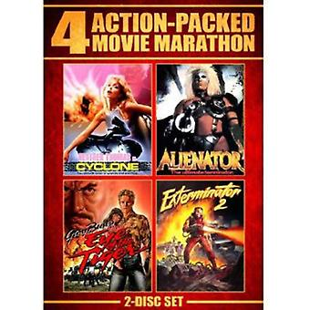 Action Packed Movie Marathon [DVD] USA import