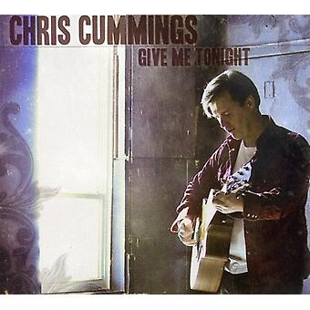 Chris Cummings - Give Me Tonight [CD] USA import