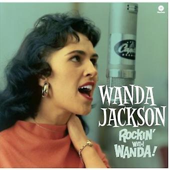 Wanda Jackson - rockin ' med Wanda! [Vinyl] USA import