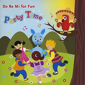 Do Re MI szkole muzycznej - Do Re MI dla importu z USA zabawy-Party Time [CD]
