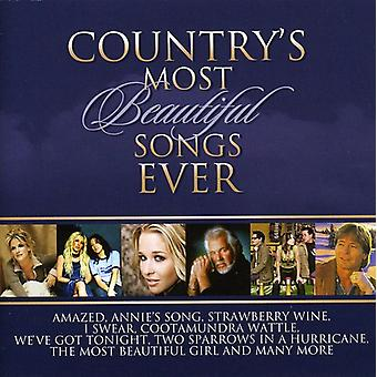 Country's Most Beautiful Songs Ever - Country's Most Beautiful Songs Ever [CD] USA import