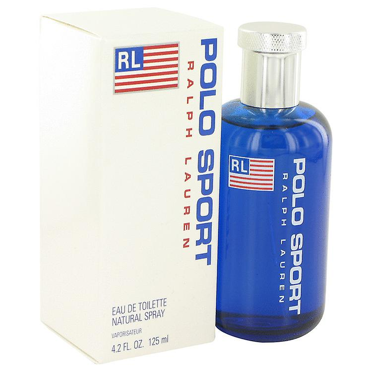 Ralph Lauren Men Polo Sport Eau De Toilette Spray By Ralph Lauren