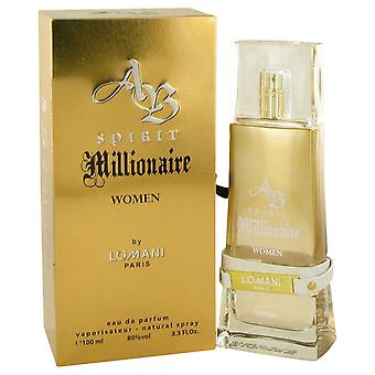 Lomani Women Spirit Millionaire Eau De Parfum Spray By Lomani