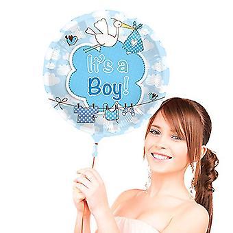 Narodziny balon folia jest balon chłopiec Junge helu Niebieski balon 43 cm
