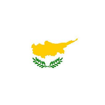 Cypriot Flag 5ft x 3ft With Eyelets For Hanging