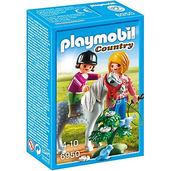 Playmobil 6950 Pony Walk (Toys , Dolls And Accesories , Miniature Toys , Mini Figures)