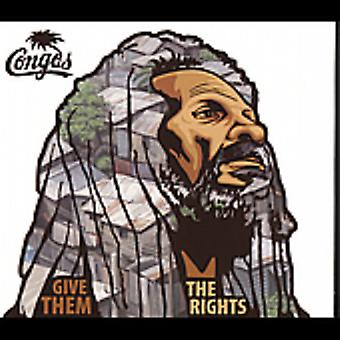 Congos - Give dem rettigheder [CD] USA importen