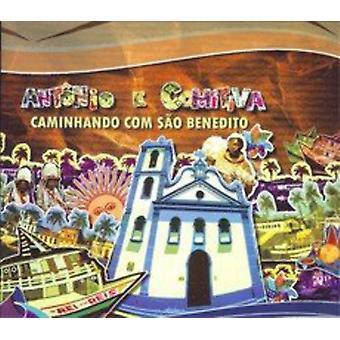 Antonio & Comitiva - Caminhando com Sao Benedito [CD] USA import