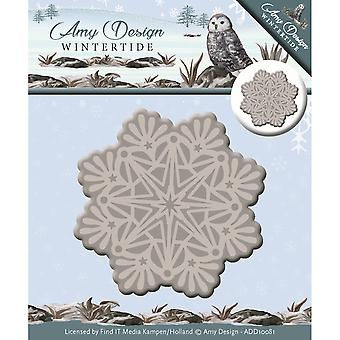 Find It Trading Amy Design Wintertide Die-Ice Crystal ADD10081