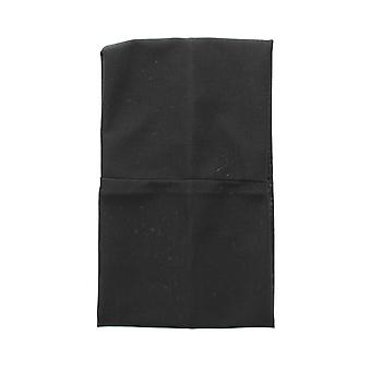 Unisex Black Elasticated Stretch Head Wrap