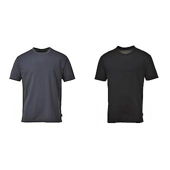 Portwest Mens Short Sleeve Thermal Base Layer Top