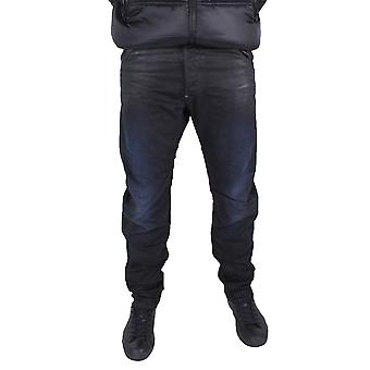 G-Star Arc Zip 3D Loose Tapered Dark Aged Effer Denim Jeans