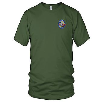US Navy Naval Air Technical Training Center Corpus Christi Texas Embroidered Patch - Mens T Shirt