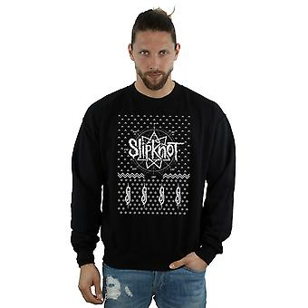 Slipknot Men's 9 Point Christmas Sweatshirt
