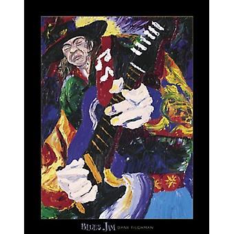 Blues Jam Poster Print by Dane Tilghman (22 x 28)