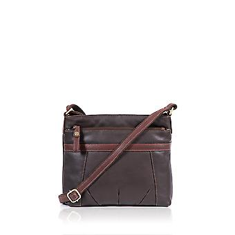 Wasdale II Leather Cross Body Bag in Brown