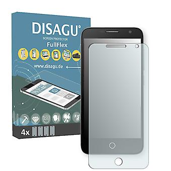 Alcatel one touch fire S screen protector - DISAGU FullFlex protector
