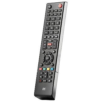 Uno para todo hogar recambio mando para Toshiba TV - negro - URC1919