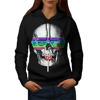 Hippie Candy Cool Women BlackHoodie | Wellcoda